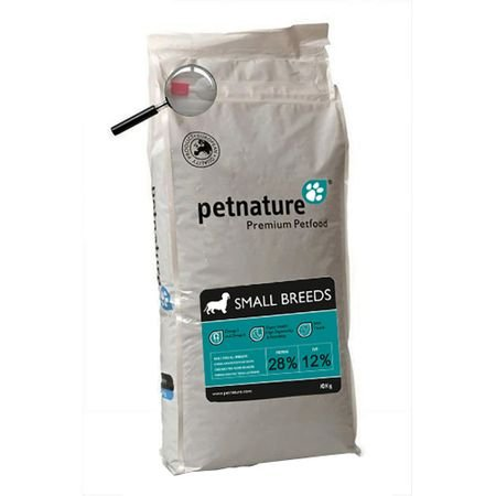 Hrana uscata pentru caini Petnature, Small Breeds, 3 Kg